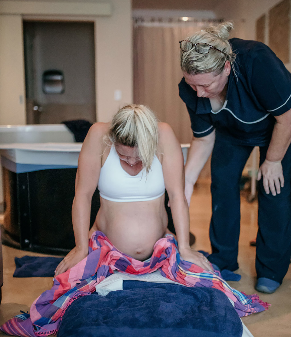 Natural birth at Genesis Clinic with Great Expectations Midwives