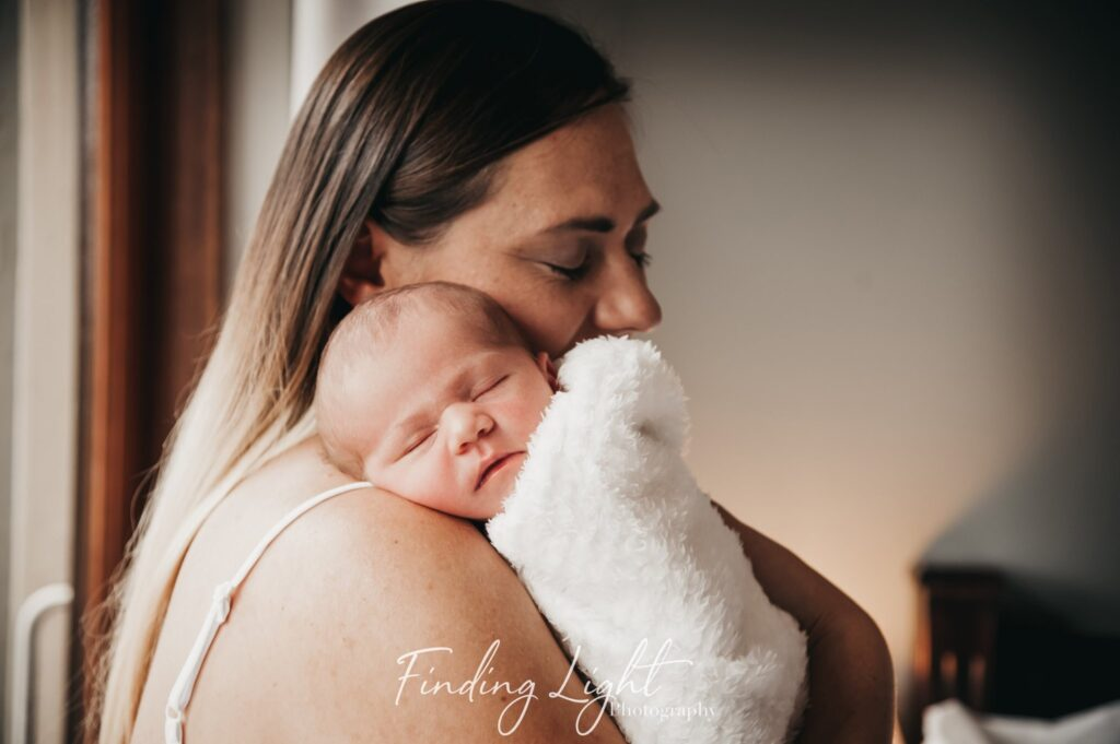 Birth photography with Finding Light Photography